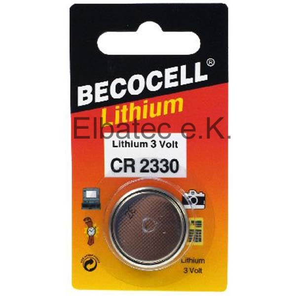 BecoCell CR2330 Knopfzelle
