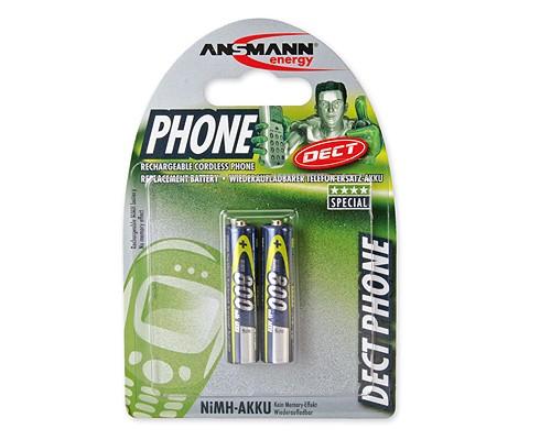 Ansmann DECT800AAA Micro - 2er Blister (Preis pro Blister)