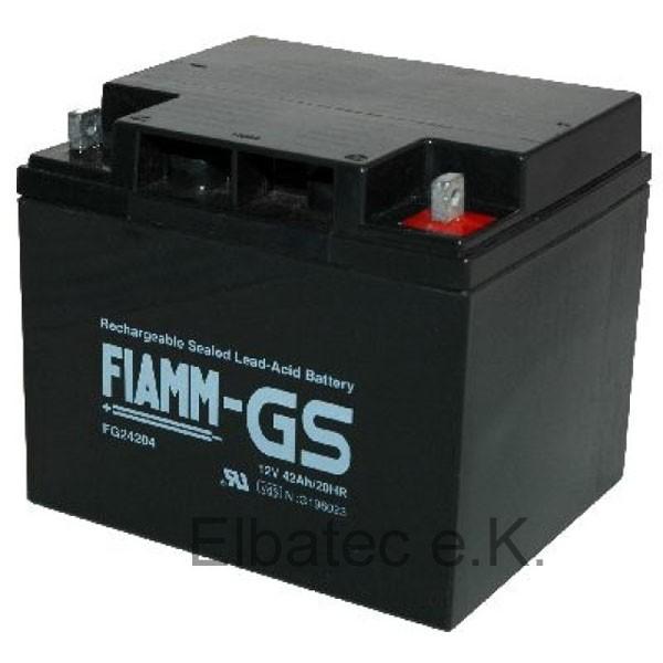 FIAMM FG24204 Bleiakku 12V 42Ah