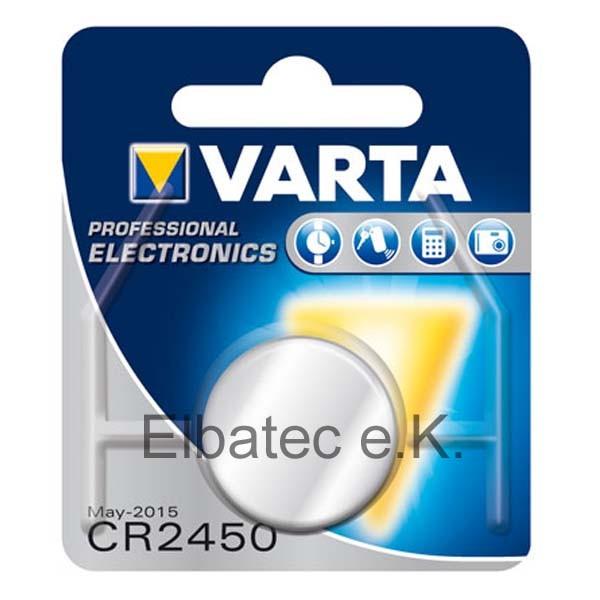 Varta 6450 Knopfzelle CR2450 (Breiter Ring)