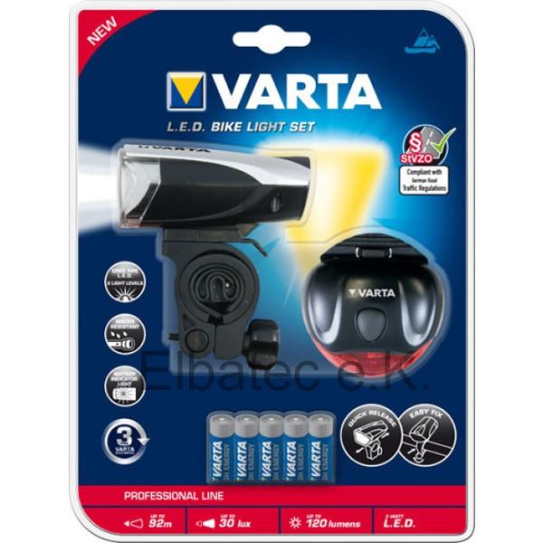 "Varta 18803 LED Bike Light Set - Serie ""professional line""-Copy-Copy-Copy-Copy-C-"