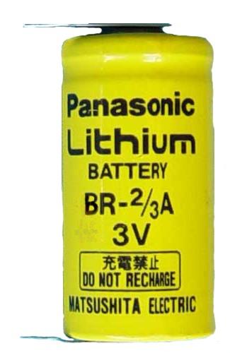 Panasonic BR-2/3A.F Lithium
