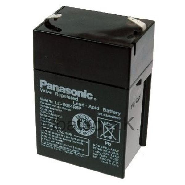 Panasonic LC-R064R5P Bleiakku
