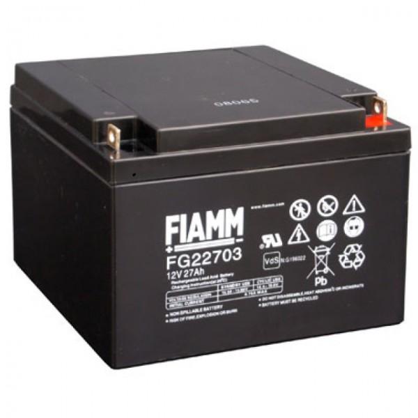 FIAMM FG22703 Bleiakku 12V 27Ah