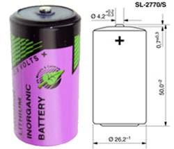 Tadiran SL-2770/S Lithium