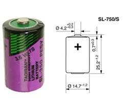 Tadiran SL-750/S Lithium