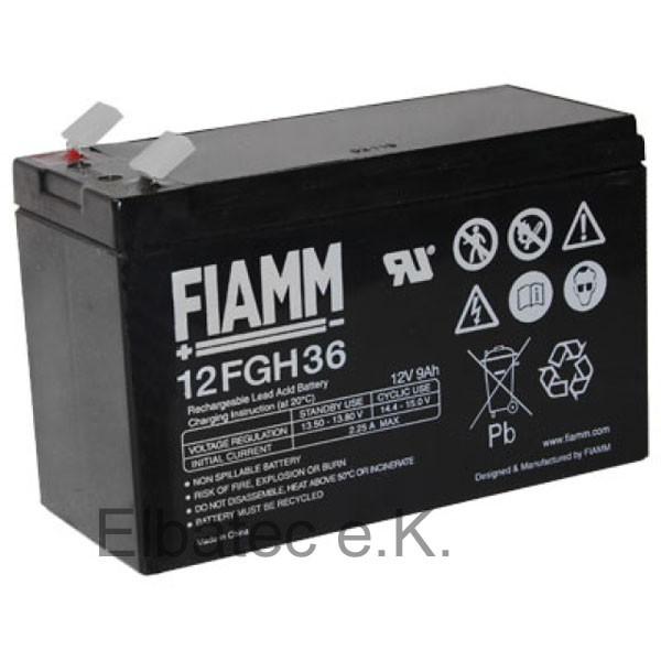 FIAMM FGH20902/12FGH36 Bleiakku 12V 9,0Ah