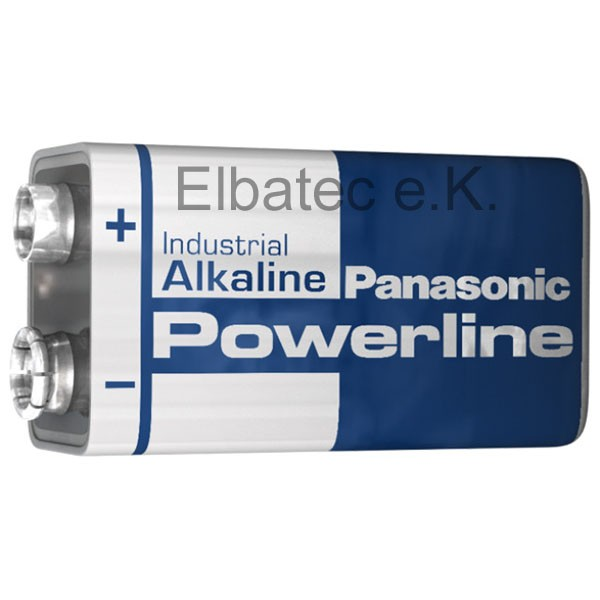 Panasonic Industrial Powerline 9V-Block