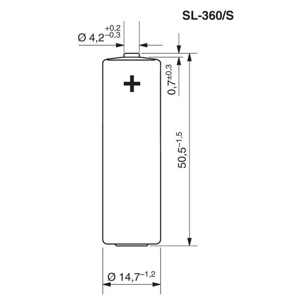 Tadiran SL-360/S Lithium