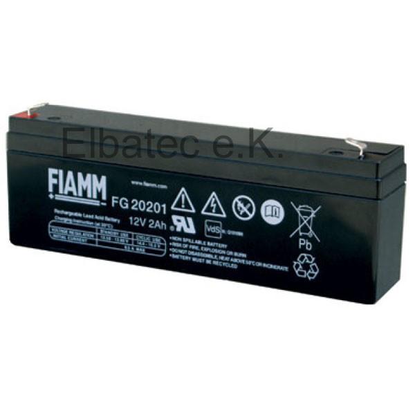 FIAMM FG20201 Bleiakku 12V 2,0Ah