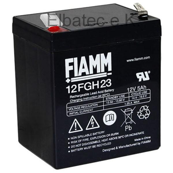 FIAMM FGH20502/12FGH23 Bleiakku 12V 5Ah