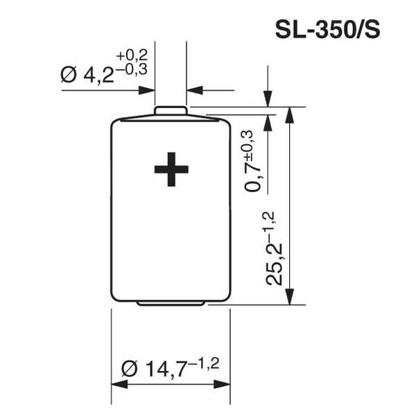 Tadiran SL-350/S Lithium