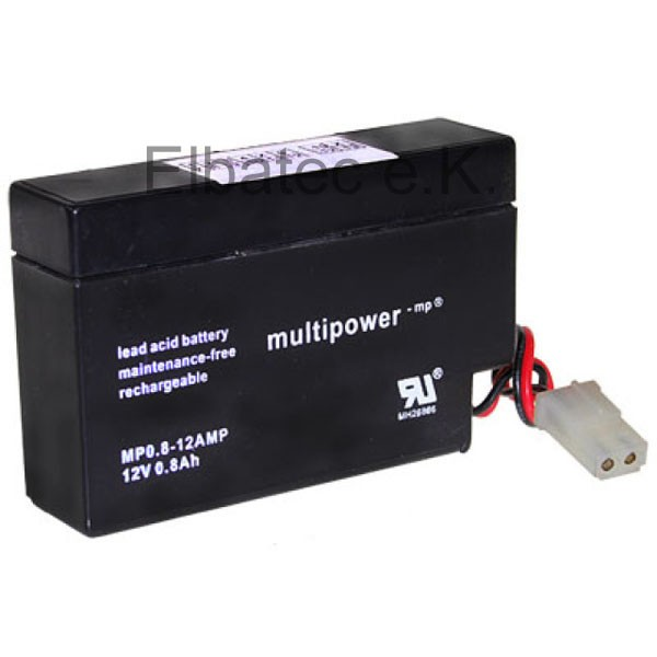 Multipower Akku 12V 0,8Ah MP0.8-12 AMP