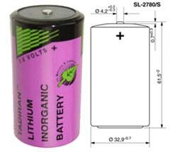 Tadiran SL2780/S Lithium