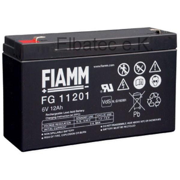 FIAMM FG11201 Bleiakku 6V 12Ah