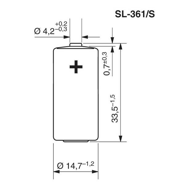 Tadiran SL-361/S Lithium
