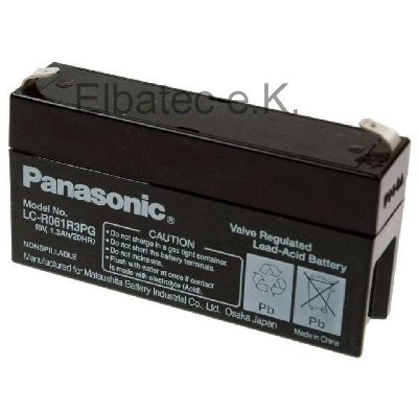 Panasonic LC-R061R3PG Bleiakku