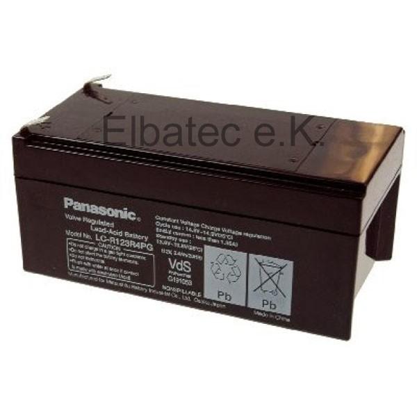 Panasonic LC-R123R4PG Bleiakku