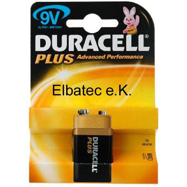Duracell MN1604BL Power (Plus) - 1er Blister (Preis pro Blister)