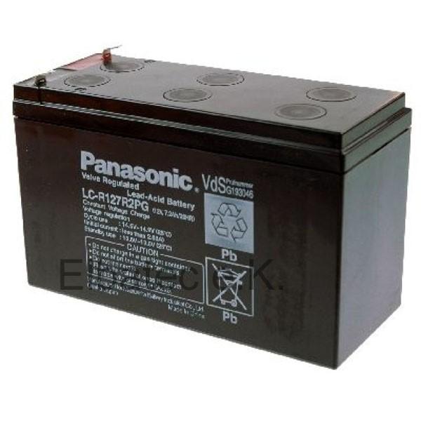 Panasonic LC-R127R2PG Bleiakku