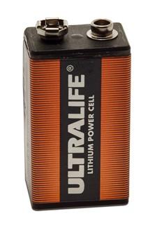 ULTRALIFE Lithium 9V-Block