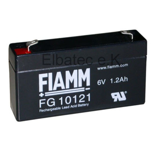 FIAMM FG10121 Bleiakku 6V 1,2Ah