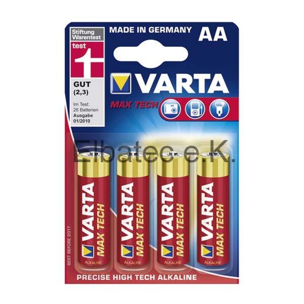 Varta Max Tech Alkaline 4706