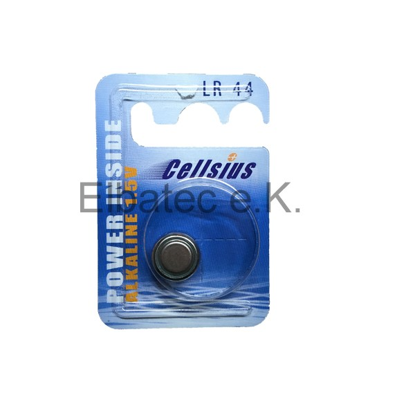 LR44 Cellsius Alkaline Batterie