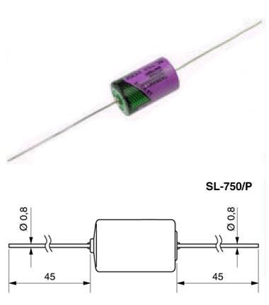 Tadiran SL-750/P Lithium