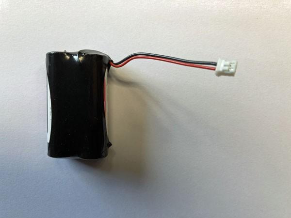 Speicherbatterie mit Kabel und JST Stecker ersetzt Honeywell Security 015605
