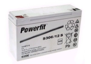 Powerfit S30612S Bleiakku
