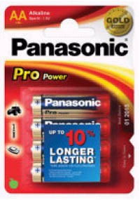 Panasonic PROLR6BL Mignon