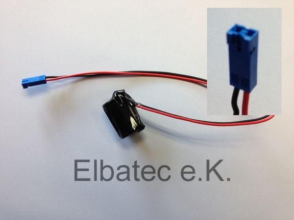 Kompatible Pufferbatterie TSX-17 ACC1 3,0V