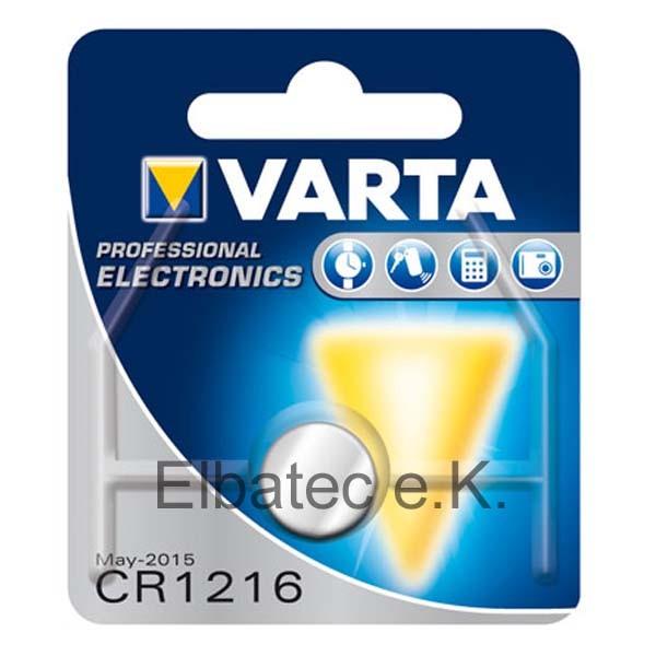 Varta CR1216 Knopfzelle