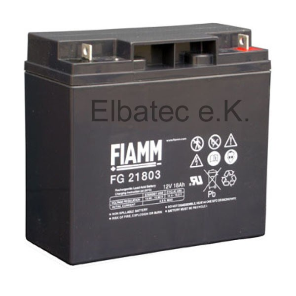 FIAMM FG21803 Bleiakku 12V 18Ah