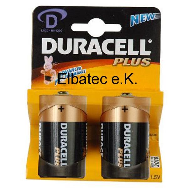 Duracell MN1300BL Power (Plus) - 2er Blister (Preis pro Blister)