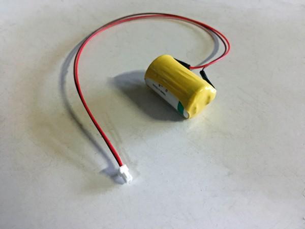 Saft-Lithium-1/2AA mit Stecker JSTSHKA2 passend für DOM Protector