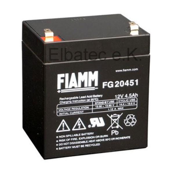FIAMM FG20451 Bleiakku 12V 4,5Ah
