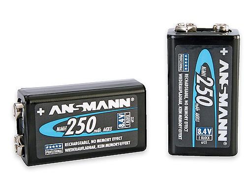 Ansmann NH300 9V-Block