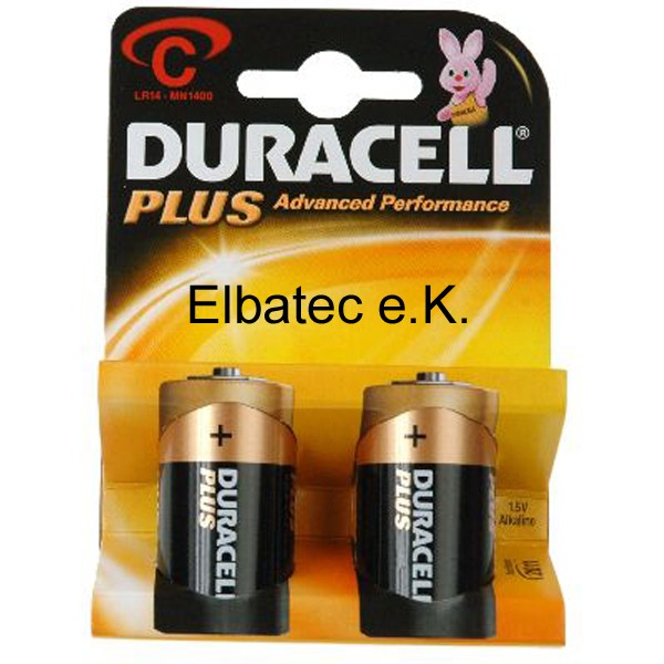 Duracell MN1400BL Power (Plus) - 2er Blister (Preis pro Blister)